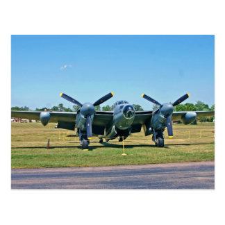 Cartão do mosquito de de Havilland