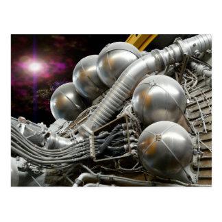 Cartão do motor de Saturn V Rocket