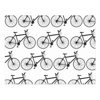 Cartão do Mountain bike