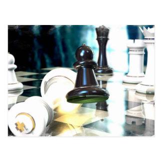 Cartão do movimento de xadrez