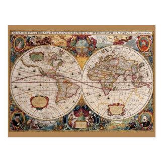 Cartão do mundo de Olde