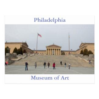 Cartão do museu de arte de Philadelphfia