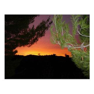 Cartão do nascer do sol de Silicon Valley