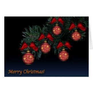 Cartão do Natal