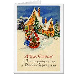 Cartão do Natal (CA 1920)