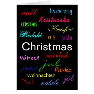 """Cartão do """"Natal"""" - customizável"""