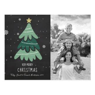 Cartão do Natal da árvore de Natal |
