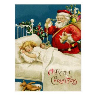 Cartão do Natal de Papai Noel