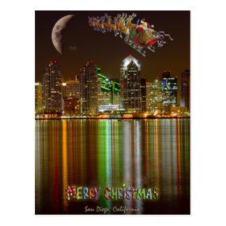 Cartão do Natal de San Diego