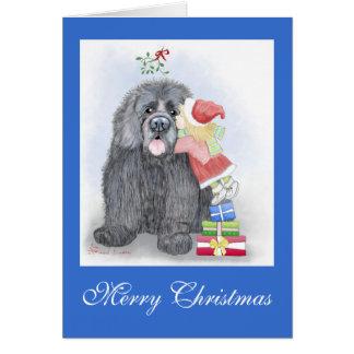 Cartão do Natal de Terra Nova