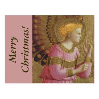 Cartão do Natal do anjo do Fra Angelico
