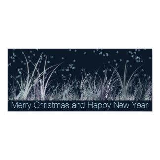Cartão do Natal & do ano novo Convite 10.16 X 23.49cm