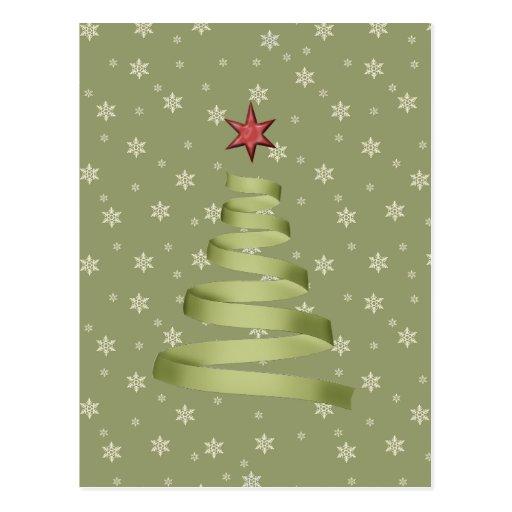 Cartão do Natal do feriado Cartão Postal