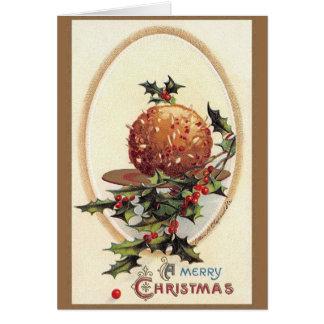 Cartão do Natal do Victorian