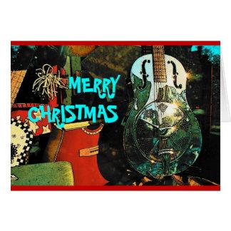 Cartão do Natal (guitarra)