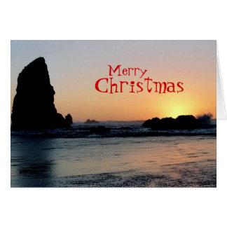 Cartão do Natal (praia)