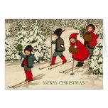 Cartão do natal vintage
