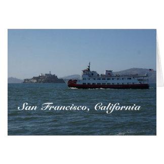 Cartão do navio do Zalophus de San Francisco