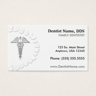 Cartão do negócio/nomeação do dentista