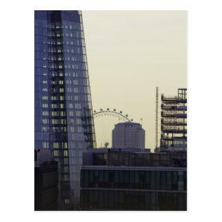 Cartão do olho de Londres