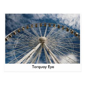 Cartão do olho de Torquay