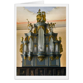 Cartão do órgão de Limburgo, Alemanha (vertical)