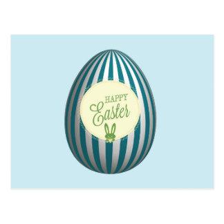 Cartão do ovo da páscoa cartão postal