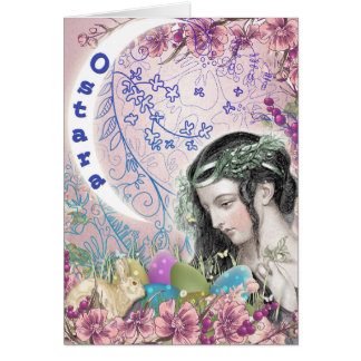 Cartão do Pagan de Ostara