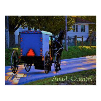 Cartão do país de Amish Cartão Postal