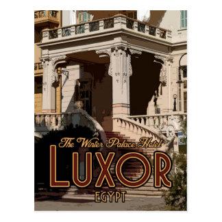 Cartão do palácio do inverno de Luxor