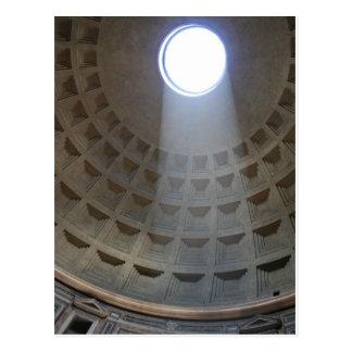 Cartão do panteão de Roma