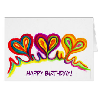 Cartão do papagaio do amor do feliz aniversario