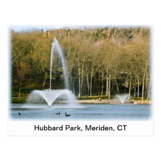 Cartão do parque de Hubbard