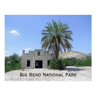 Cartão do parque nacional de curvatura grande