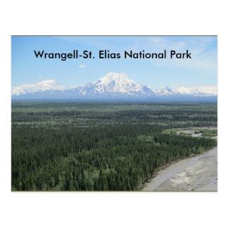 Cartão do parque nacional de Elias do
