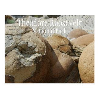 Cartão do parque nacional de Theodore Roosevelt