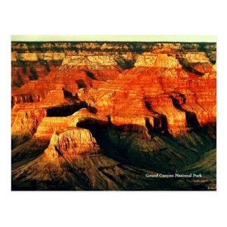 Cartão do parque nacional do Grand Canyon