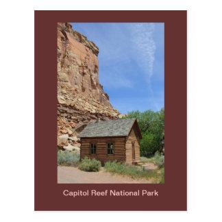 Cartão do parque nacional do recife do Capitólio
