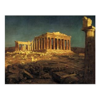 """Cartão do """"Partenon"""" da igreja"""