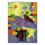 Cartão do pássaro do mágico