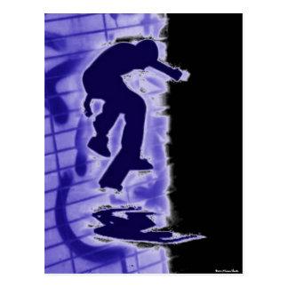 Cartão do patinador