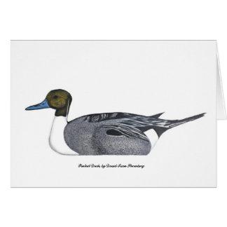 Cartão do pato do arrabio, por David Ivan Strombeg