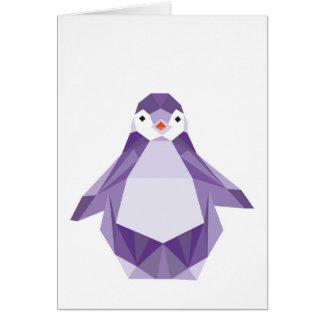 Cartão do pinguim