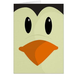 Cartão do pinguim do Natal feliz - Xmas da feliz