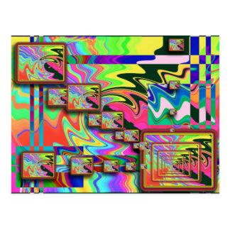 cartão do POP ART 5x5
