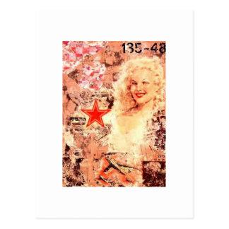 Cartão do pop do vintage