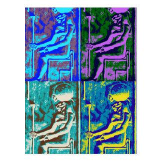 Cartão do popart de Sekhmet