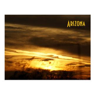 Cartão do por do sol da arizona de IDKP