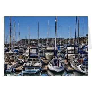 Cartão do porto de Dana Point