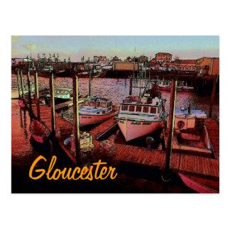 Cartão do porto de Gloucester